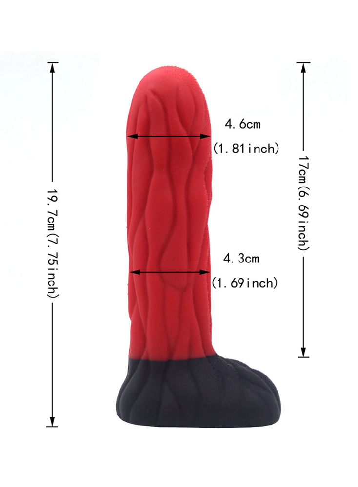 "7.8"" Dragon Dildo"