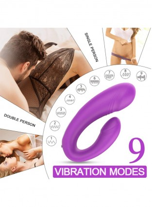 Clitoral Vibrator G-spot Wireless Remote Control 9 Powerful Vibrations Waterproof Couples Women Vibrator