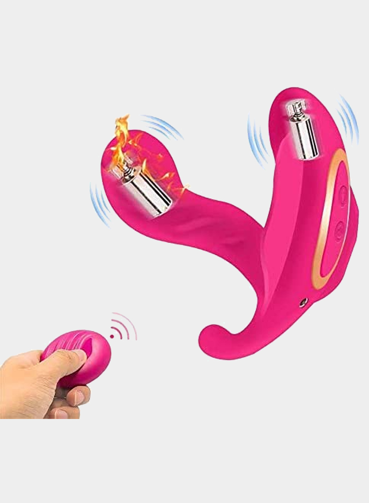 Wearable Heating Vibrators Wireless Remote Control With 10 Vibration