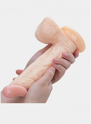 8 Inch Realistic Dildo Penis Suction  Base Stimulation Woman Masturbator Sex Toys for Women