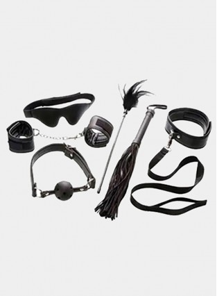 Bondage Set 6 Piece Bondage Kits BDSM Sex Products for Adults