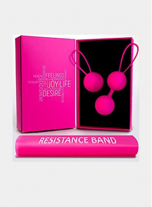 Free Training Resistance Exercise Band – Doctor Recommended Weights for Beginners & Advanced, Vaginal Tightening, Bladder Control, Women Pelvic Floor Recovery