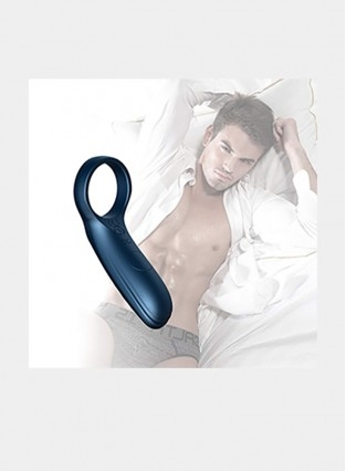 Cock Ring Waterproof Rechargeable Penis Rings Vibrating Sex Toy MultipleModes Vibrator for Longer Lasting Erections or Vagina Clitoris Stimulator