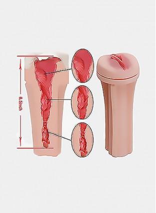 Pocket Pussy,Male Masturbators Cup Adult Sex Toys Realistic Textured Pocket Vagina Pussy Man Masturbation Stroker