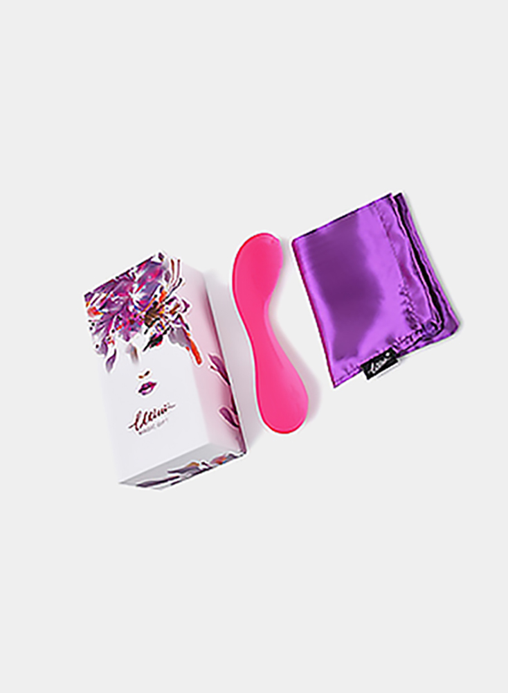 Clitoral Vibrator Breast Vulva and Clitoris Massager with Soft Silicone Tickle Brush for Women or Couple