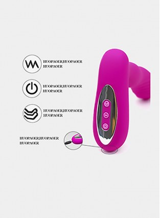 Wearable Vibrator Dildo Feelingirl Invisible Wearable Vibrating Wand with Steel Ball Tickling Clit Stimulation and 12 Frequency USB RechargebleToys for Adults for Women