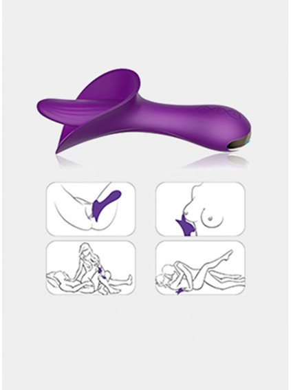 G Spot Clitoral Stimulation Vibrator Adult Sex Toys, Adorime Powerful Silicone Waterproof Rechargeable Nipples Vagina Clit Stimulator Massager for Women