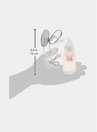 Pocket Exotics Wired Remote Double Bullet Vibrator - Sex Toys for Couples - Adult Vibe Eggs Massager