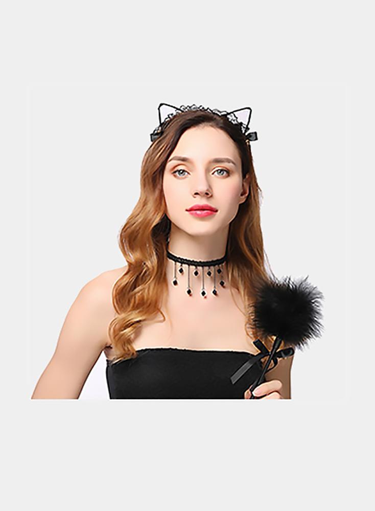 Sex Toys For Women Role Play Decoration Accessories Lace Sexy Cat Ears BDSM Bondage Decoration