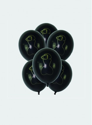 12 Inches Penis Balloons Bachelor Party Accessories Decoration Adult Party 100-piece/Set