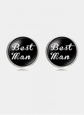 Men Cufflinks High Quality Personalized Wedding Cufflinks