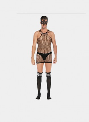 Men Bodysuit Sexy Dance Party Underwear Body Stocking Sexy Bondage For Bachelor Party