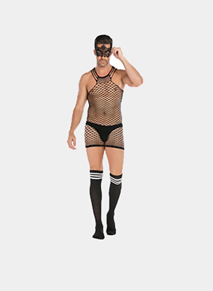 Men Bodysuit Sexy Dance Party Underwear Body Stocking Sexy Bondage For Bachelor Party